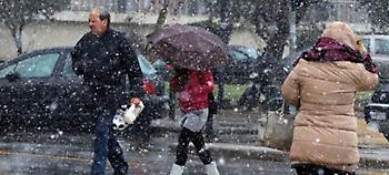 Βροχές και χιόνια σήμερα - Πού θα είναι πιο έντονα τα φαινόμενα