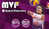 Πολυτιμότερη στη Volley League η Κοκκινάκη