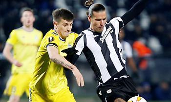 Το γκολ του Πρίγιοβιτς με το οποίο μείωσε ο ΠΑΟΚ (video)