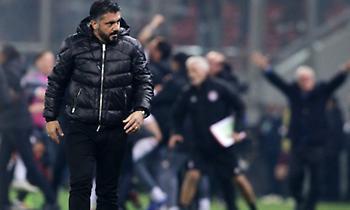 Γκατούζο: «Δεχτήκαμε το πρώτο γκολ από λάθος, κακή η διαιτησία»