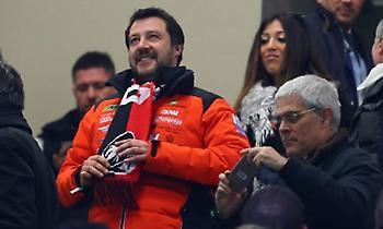 Αντιπρόεδρος της ιταλικής κυβέρνησης: «Αποκλεισμός-ντροπή για τη Μίλαν!»