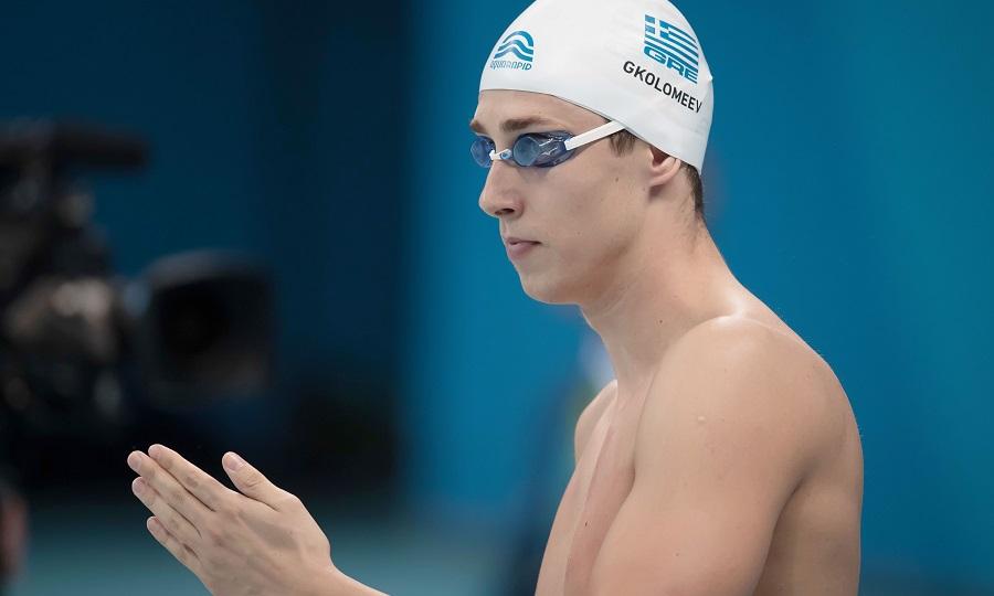 Πανελλήνιο ρεκόρ ο Γκολομέεβ στα 50μ. πεταλούδα