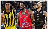 Euroleague MVP Ladder: Οι 10 υποψήφιοι για το βραβείο!