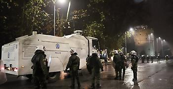 Επεισόδια Θεσσαλονίκη: Δεκάδες προσαγωγές και μία σύλληψη
