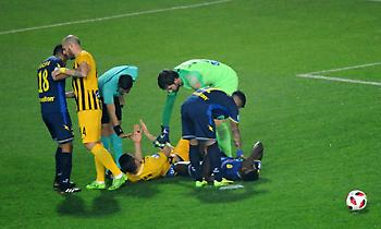 Στο νοσοκομείο ο Καμαρά μετά τον τραυματισμό του!