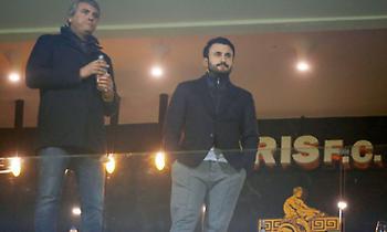 Αποδοκιμάστηκαν Καρυπίδης και Διαμαντόπουλος στο «Κλ. Βικελίδης»