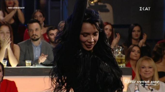 Η Πάολα «γκρέμισε» με τον χορό της το πλατό του Σπύρου Παπαδόπουλου! (video)