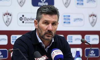 Ουζουνίδης: «Δεν ήταν ποδόσφαιρο αυτό, οι παίκτες της Λάρισας ξέρανε καλύτερα από εμάς το γήπεδο»