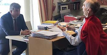 Ηχητικό απόσπασμα της συνέντευξης Κωνσταντίνου Αγγελόπουλου στην Καθημερινή