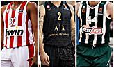 Poll: Ποια είναι η πιο ωραία φανέλα της EuroLeague;