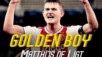 «Golden Boy» για το 2018 ο Ντε Λιχτ