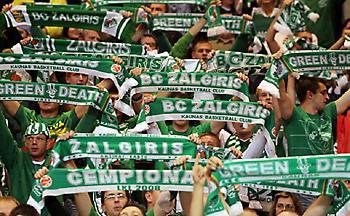 Εκατοντάδες θεατές από Λετονία και Εσθονία βλέπουν Ζαλγκίρις