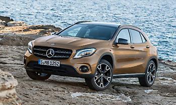 Με τη Mercedes-Benz GLA στο Βόιο