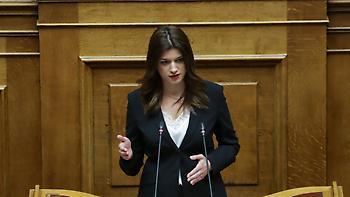 Νοτοπούλου στη Βουλή: Η Θεσσαλονίκη αποκτά Μετρό, να τι έκανε το γραφείο του πρωθυπουργού!