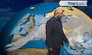 Πρόγνωση καιρού: Αλλάζει ξαφνικά ο καιρός – Τι προβλέπει ο Σάκης Αρναούτογλου (vid)