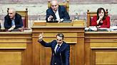 «Θερμό επεισόδιο» Βούτση - Μητσοτάκη στη Βουλή