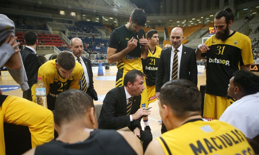 Για τη δέκατη σερί νίκη η ΑΕΚ - Μπάσκετ - Ευρώπη - A.E.K.  5038f060148