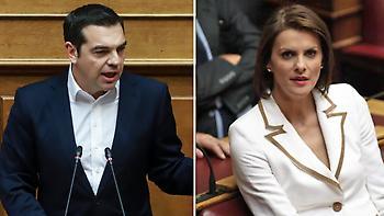 Επεισόδιο Τσίπρα - Μάρκου στη Βουλή: «Τι πάθατε κυρία μου... αλλάζετε συχνά κόμματα και προέδρους»