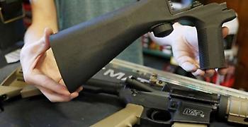ΗΠΑ: «Στοπ» στη χρήση bump stocks στα όπλα