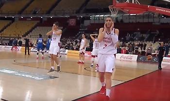 Η παρακάμερα της πικρής ήττας του Ολυμπιακού στην Ευρωλίγκα Γυναικών (video)