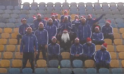 Οι παίκτες του Αστέρα Τρίπολης τραγουδούν τα κάλαντα! (video)