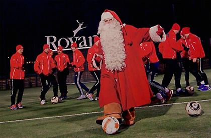 FC Santa Claus: Ο πιο γιορτινός σύλλογος του κόσμου!