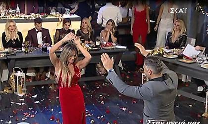 Σόφη Πασχάλη: «Φωτιά στα κόκκινα» χόρεψε τσιφτετέλι με τον Στέλιο Κρητικό!