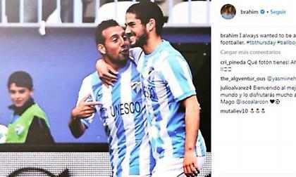 Μπραχίμ Ντίαθ: Από ball boy στη La Liga, παίκτης της Ρεάλ Μαδρίτης (pic)