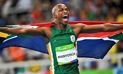 Luvo Manyonga: Από τα ναρκωτικά... στην κορυφή του κόσμου!