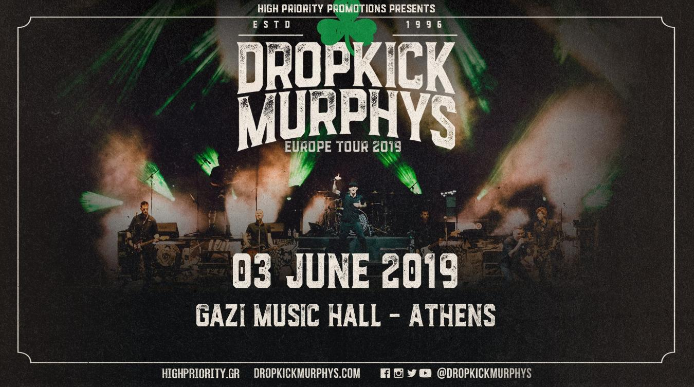 Οι Dropkick Murphys έρχονται και στην Αθήνα!
