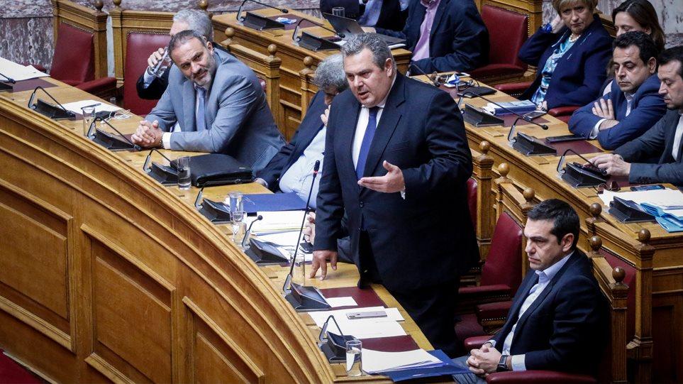 Καμμένος: Αναβάλλουμε τη συνάντησή μας με Τσίπρα λόγω της εμπλοκής στα Σκόπια