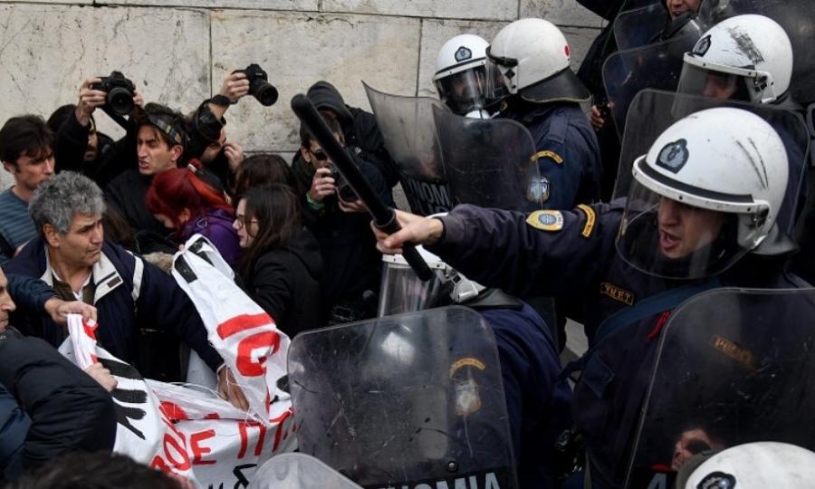 Γεροβασίλη: «Απαράδεκτες και πολιτικά επικίνδυνες οι ενέργειες κάποιων ανδρών των ΜΑΤ»