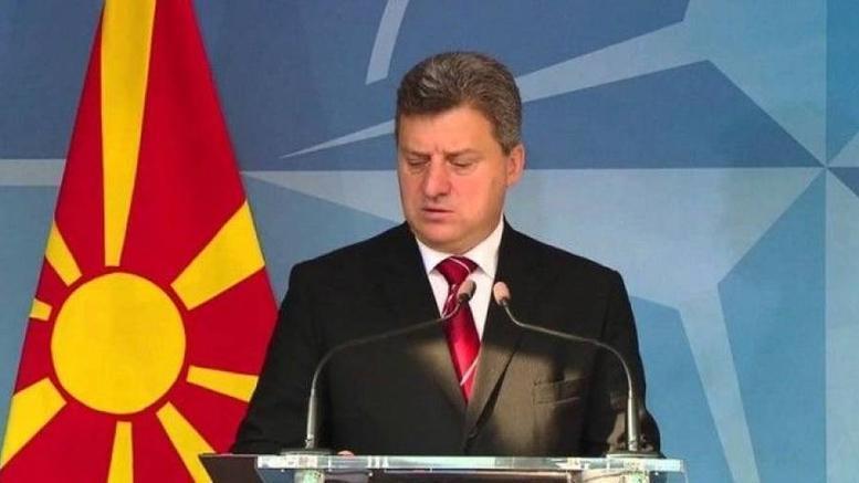 Αρνείται ο πρόεδρος της πΓΔΜ να υπογράψει το νέο Σύνταγμα