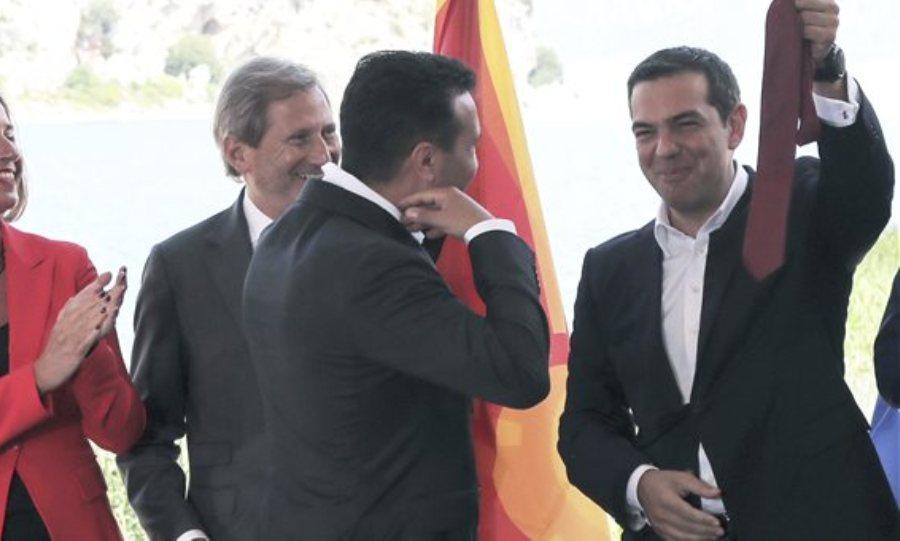 Τσίπρας, ΕΕ και ΝΑΤΟ δίνουν συγχαρητήρια στον Ζάεφ για την αναθεώρηση