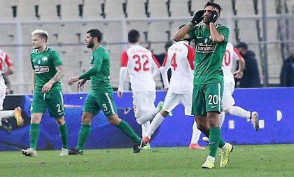 Παγκάκης: «Φταίει όλη η ομάδα και όχι ένας παίκτης για την ισοπαλία»