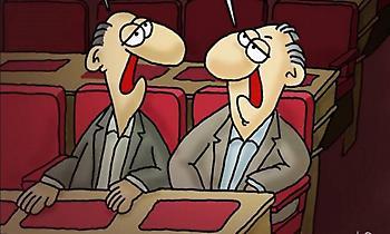 Αρκάς: Επικό το σκίτσο που ανέβασε για την ψήφο εμπιστοσύνης στη Βουλή
