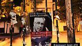 Aφίσες κατά πολιτικών στο κέντρο της Θεσσαλονίκης για τις «Πρέσπες»
