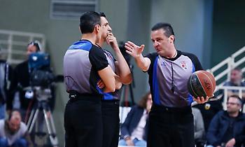 Οι διαιτητές της 14ης αγωνιστικής στην Basket League