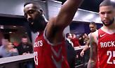 Έσπρωξε κάμερα και έβρισε ο Χάρντεν μετά την ήττα των Ρόκετς (video)