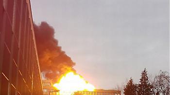 Ισχυρή έκρηξη στο πανεπιστήμιο της Λυών (vids)