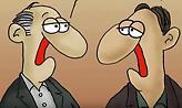 Αρκάς – ρόμπες ξεκούμπωτες: Επικό σκίτσο για την χθεσινή ψηφοφορία