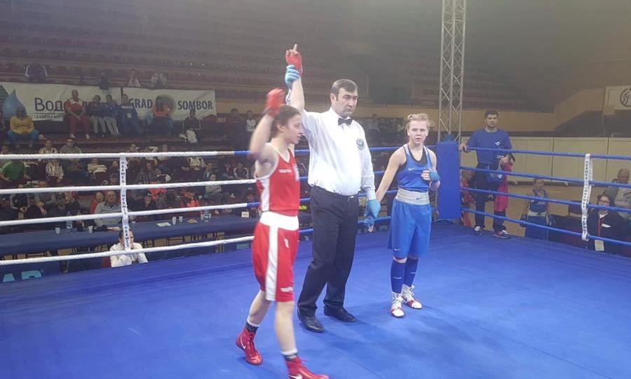 Στα προημιτελικά η Κουτσογεωργοπούλου στο Κύπελλο Εθνών πυγμαχίας!