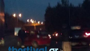 Θεσσαλονίκη: Καραμπόλα δέκα αυτοκινήτων στον περιφερειακό