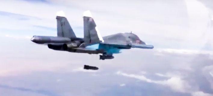 Συγκρούστηκαν στον αέρα δύο βομβαρδιστικά SU-34 της Ρωσικής Αεροπορίας