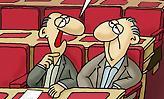 Το νέο σκίτσο του Αρκά για τις ψηφοφορίες στη Βουλή τα σπάει