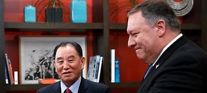 ΗΠΑ: Ο Πομπέο συναντήθηκε με τον απεσταλμένο του Κιμ Γιονγκ Ουν