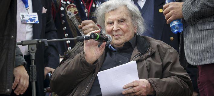 Μίκης Θεοδωράκης για Συμφωνία των Πρεσπών: Μην προχωρήσετε σε αυτό το έγκλημα σε βάρος της Ελλάδας