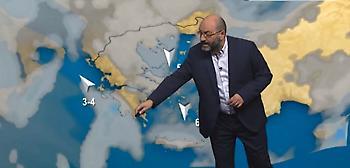 Πρόγνωση καιρού: Συναγερμός για τη θερμοκρασία από τον Σάκη Αρναούτογλου