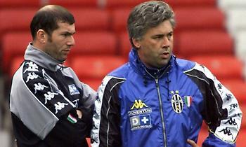 Αντσελότι: «Ο Ζιντάν στη Γιουβέντους άλλαξε την ιδέα μου στο ποδόσφαιρο»