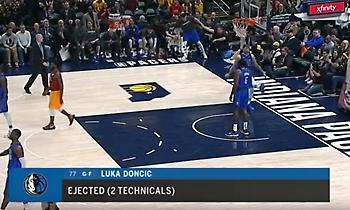 Κλώτσησε την μπάλα κι αποβλήθηκε ο Ντόντσιτς (video)